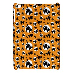Pattern Halloween Black Cat Hissing Apple Ipad Mini Hardshell Case