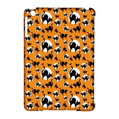 Pattern Halloween Black Cat Hissing Apple Ipad Mini Hardshell Case (compatible With Smart Cover)