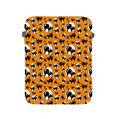 Pattern Halloween Black Cat Hissing Apple Ipad 2/3/4 Protective Soft Cases