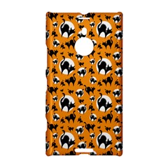 Pattern Halloween Black Cat Hissing Nokia Lumia 1520