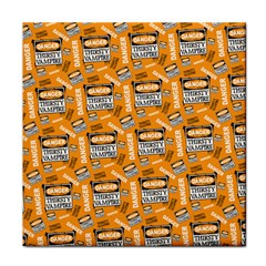 Halloween Thirsty Vampire Signs Face Towel