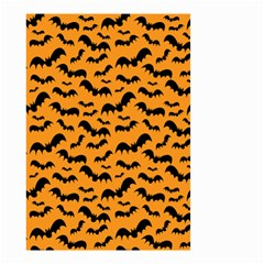 Pattern Halloween Bats  Icreate Small Garden Flag (two Sides)