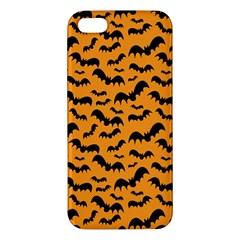 Pattern Halloween Bats  Icreate Apple Iphone 5 Premium Hardshell Case