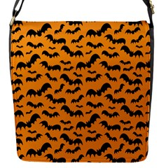 Pattern Halloween Bats  Icreate Flap Messenger Bag (s)