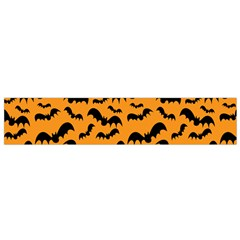 Pattern Halloween Bats  Icreate Flano Scarf (small)