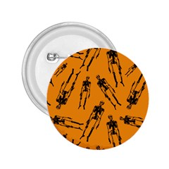 Halloween Skeletons  2 25  Buttons