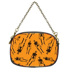 Halloween Skeletons  Chain Purses (two Sides)