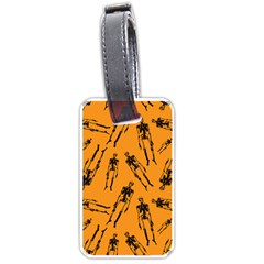 Halloween Skeletons  Luggage Tags (two Sides)