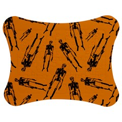 Halloween Skeletons  Jigsaw Puzzle Photo Stand (bow)