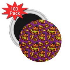 1pattern Halloween Colorfuljack Icreate 2 25  Magnets (100 Pack)