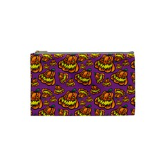 1pattern Halloween Colorfuljack Icreate Cosmetic Bag (small)