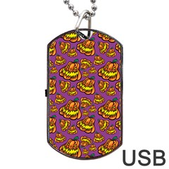 1pattern Halloween Colorfuljack Icreate Dog Tag Usb Flash (two Sides)