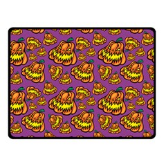 1pattern Halloween Colorfuljack Icreate Double Sided Fleece Blanket (small)