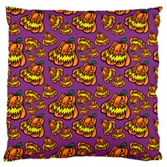 1pattern Halloween Colorfuljack Icreate Large Flano Cushion Case (one Side)