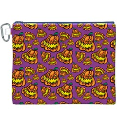 1pattern Halloween Colorfuljack Icreate Canvas Cosmetic Bag (xxxl)