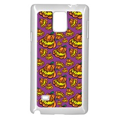 1pattern Halloween Colorfuljack Icreate Samsung Galaxy Note 4 Case (white)