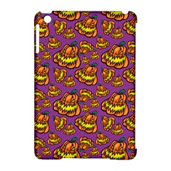 Halloween Colorful Jackolanterns  Apple Ipad Mini Hardshell Case (compatible With Smart Cover)