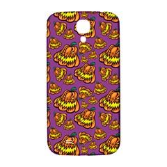 Halloween Colorful Jackolanterns  Samsung Galaxy S4 I9500/i9505  Hardshell Back Case