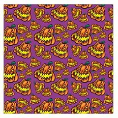 Halloween Colorful Jackolanterns  Large Satin Scarf (square)