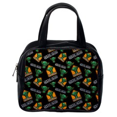 Halloween Ghoul Zone Icreate Classic Handbags (one Side)