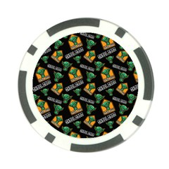 Halloween Ghoul Zone Icreate Poker Chip Card Guard (10 Pack)