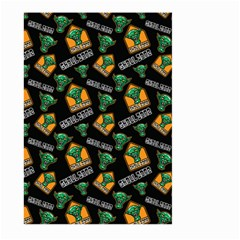 Halloween Ghoul Zone Icreate Large Garden Flag (two Sides)