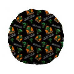 Halloween Ghoul Zone Icreate Standard 15  Premium Round Cushions