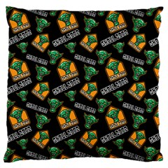 Halloween Ghoul Zone Icreate Large Flano Cushion Case (two Sides)