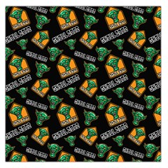Halloween Ghoul Zone Icreate Large Satin Scarf (square)