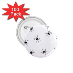 Spiders 1 75  Buttons (100 Pack)