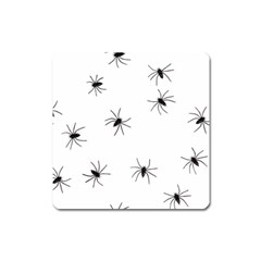 Spiders Square Magnet