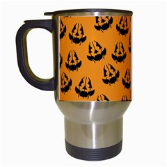 Halloween Jackolantern Pumpkins Icreate Travel Mugs (white)