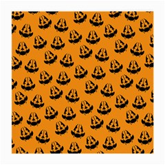 Halloween Jackolantern Pumpkins Icreate Medium Glasses Cloth (2 Side)