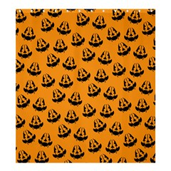 Halloween Jackolantern Pumpkins Icreate Shower Curtain 66  X 72  (large)