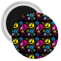 Peace Drips Icreate 3  Magnets