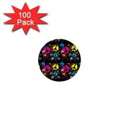 Peace Drips Icreate 1  Mini Buttons (100 Pack)