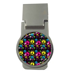 Peace Drips Icreate Money Clips (round)