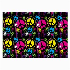 Peace Drips Icreate Large Glasses Cloth (2 Side)
