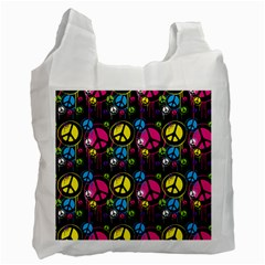 Peace Drips Icreate Recycle Bag (two Side)