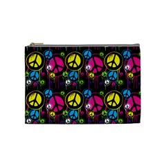 Peace Drips Icreate Cosmetic Bag (medium)