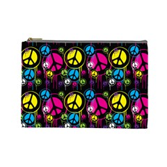 Peace Drips Icreate Cosmetic Bag (large)