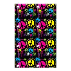 Peace Drips Icreate Shower Curtain 48  X 72  (small)