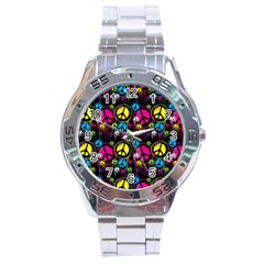 Peace Drips Icreate Stainless Steel Analogue Watch