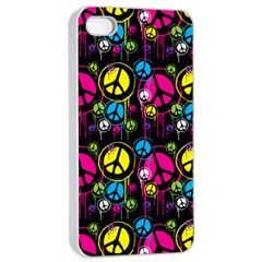 Peace Drips Icreate Apple Iphone 4/4s Seamless Case (white)