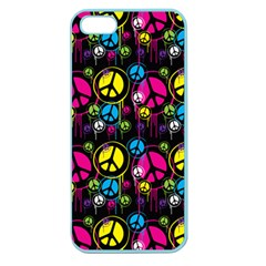 Peace Drips Icreate Apple Seamless Iphone 5 Case (color)