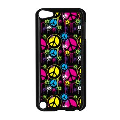 Peace Drips Icreate Apple Ipod Touch 5 Case (black)