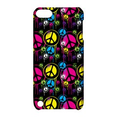 Peace Drips Icreate Apple Ipod Touch 5 Hardshell Case With Stand