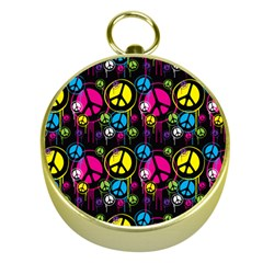 Peace Drips Icreate Gold Compasses