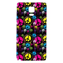 Peace Drips Icreate Galaxy Note 4 Back Case