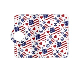 Peace Love America Icreate Kindle Fire Hd (2013) Flip 360 Case
